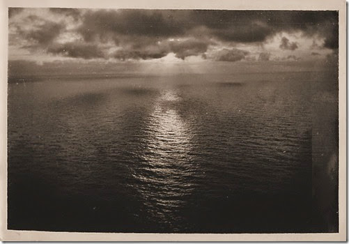 Sunrise Over the North Atlantic - by KH Royter-1936