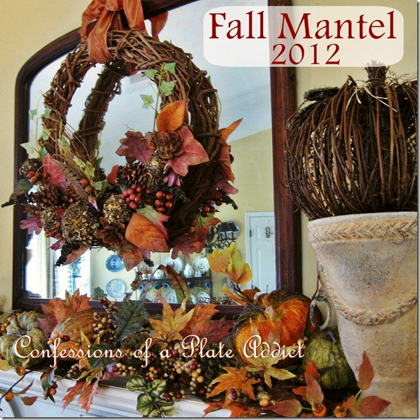 Plate Addict Fall Mantel 2012