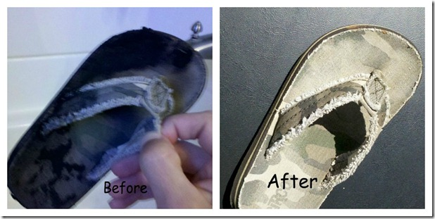 Shoe Before After