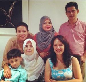 zul ariffin mak kekasih girlfriend keluarga family