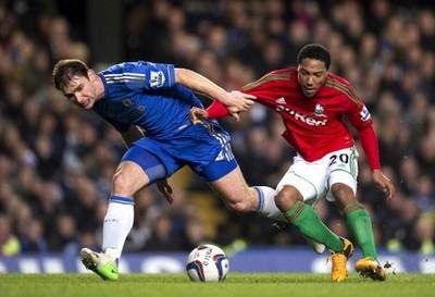 Hasil Pertandingan Chelsea vs Swansea City, Capital One Cup