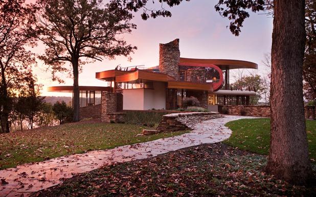 chenequa residence by robert harvey oshatz architect 6