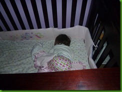 Emily Sleeping - Nov. 5. 2011