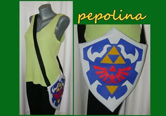 Hylian Shield Ocarina of Time Legend of Zelda Bag by Ivana Pepolina