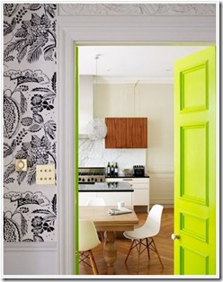 neon decor interior door kitchen bright via the aestate