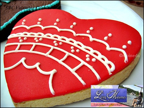SBC Valentine Cookies