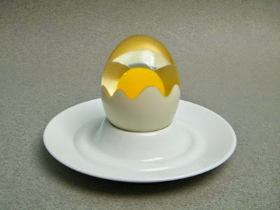 acrylic egg sculpture paperweight