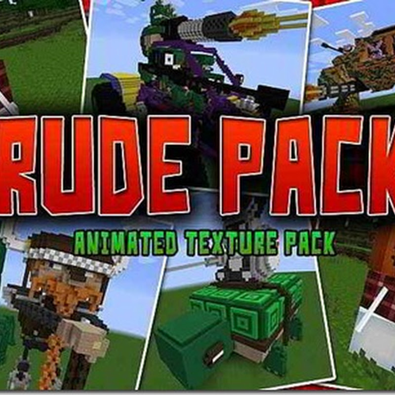 Minecraft 1.2.5 - Rude pack Texture pack (16x)