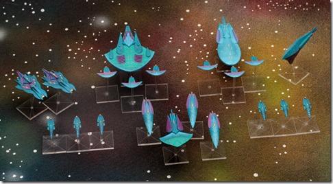 FireStorm Armada Aquan Prime Fleet
