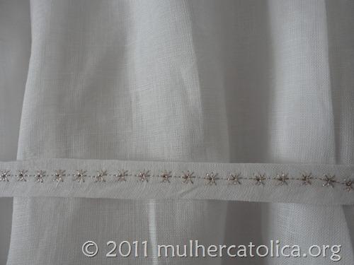 Mandrião do Inácio - Cinto bordado com estrelinhas