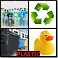 PLASTIC- 4 Pics 1 Word Answers 3 Letters
