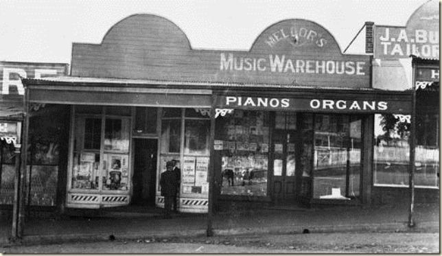 Music store in Morgan Street Mount Morgan 1913