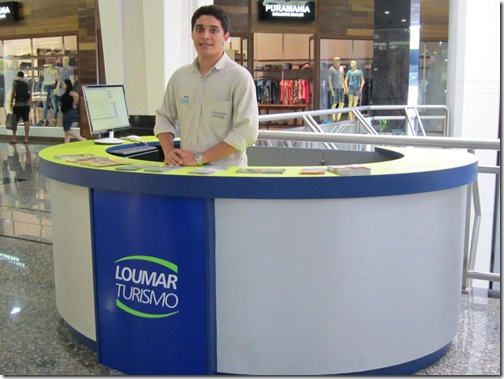 Loumar no Shopping JL Cataratas