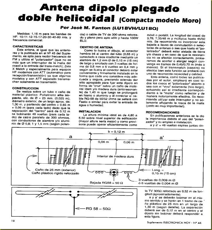 ANT-HELICOIDAL (REDUCIDA ) MORO