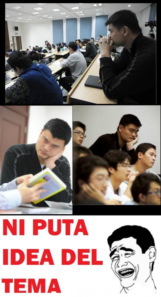 Yao Ming vuelve a la Universidad