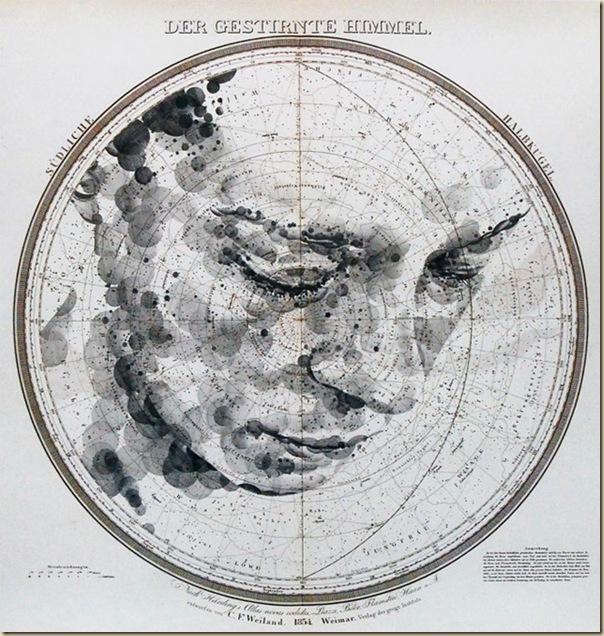 Portraits dessinés sur les cartes par Ed Fairburn (8)