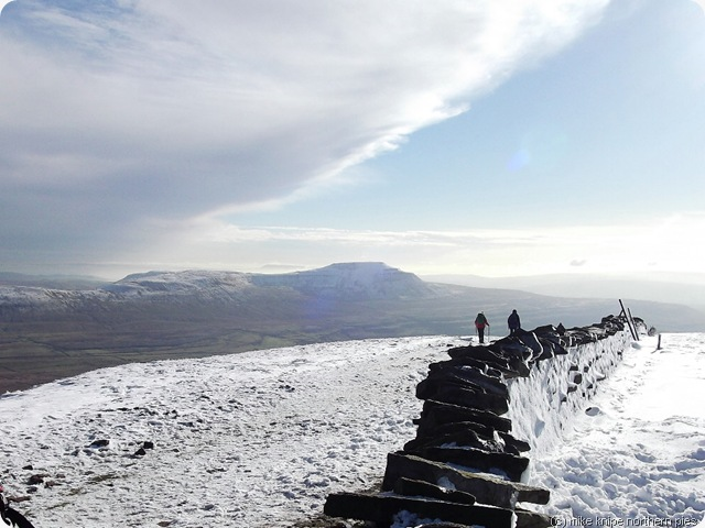 ingleborough from whernside