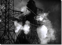 Gojira Shocked by the Towers