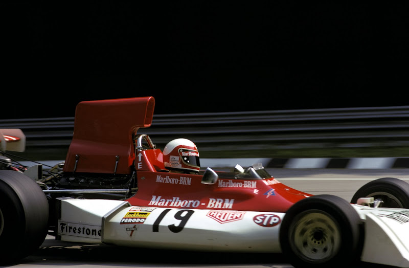 asaucerfulofwheels:  Clay Regazzoni/BRM P160E/Monza/1973