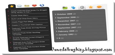 menu tab dengan jQuery
