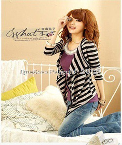 ECM62009 - STRIPES CARDIGAN