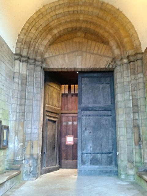 Doors found on the beautiful abbey building. The abbey dates from the 12thc. & Tewkesbury Abbey entrance doors | Cheltenham Daily Photo ...