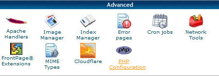 hostgator php configuration plugin