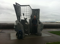 Monument at the start of the South West Coast Path (Minehead) Photo