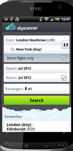 Skyscanner App for Android