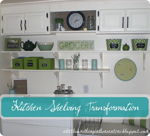 Kitchen Shelving Banner