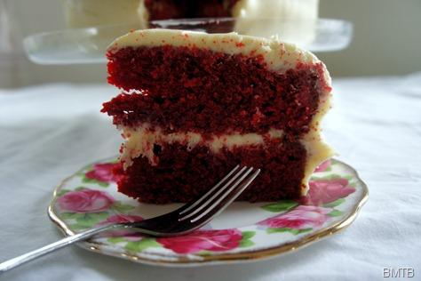 Red Velevet Cake Slice