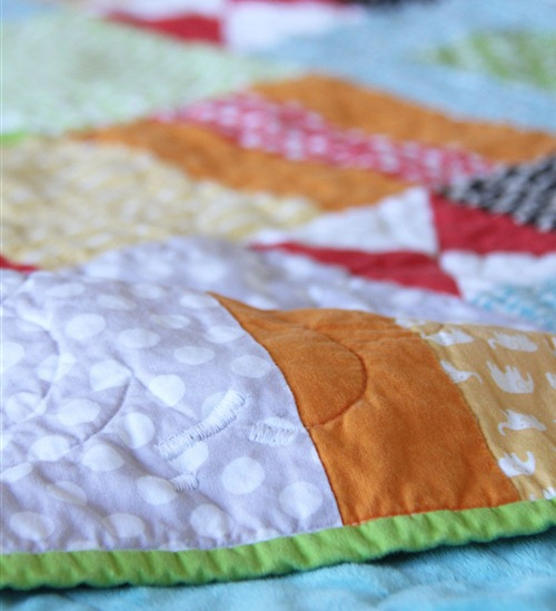 Quilt Tear Fixed, Cluck Cluck Sew