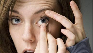 lentes de contacto para mejorar la visión
