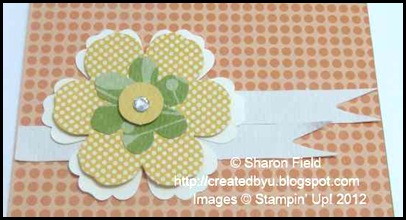 staggered blossom builders die cut ribbons