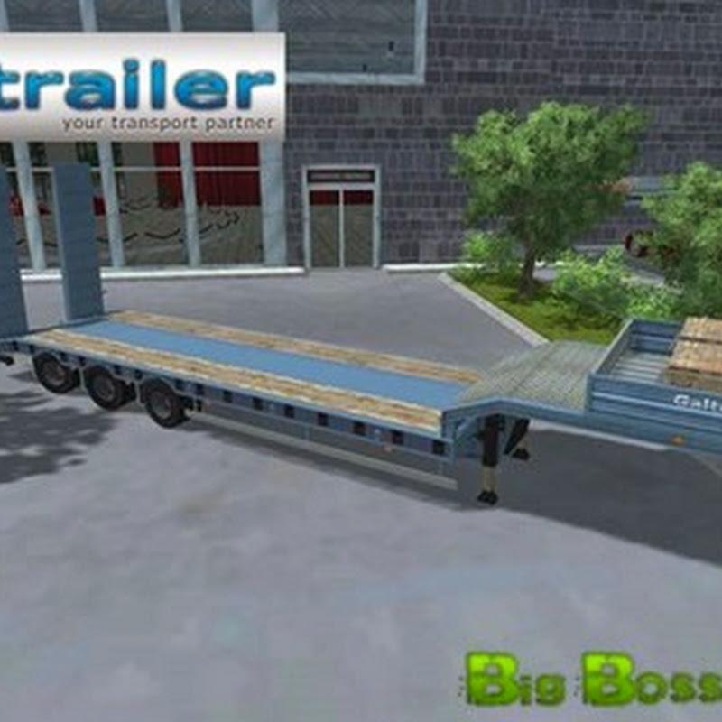 Farming simulator 2013 - Pack Low Loader Galtrailer v 1.0