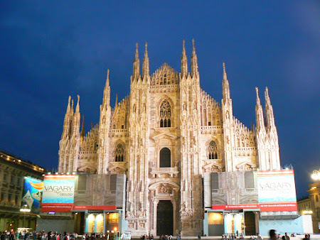 Imagini Italia: Domul din Milano, cea mai frumoasa catedrala din Italia