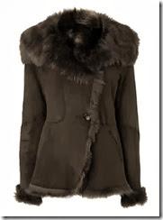 LK Bennett Sheepskin Jacket