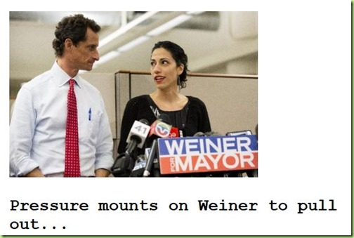 drudge weiner pull out