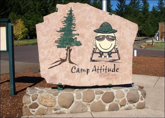 Camp Attitude Sign