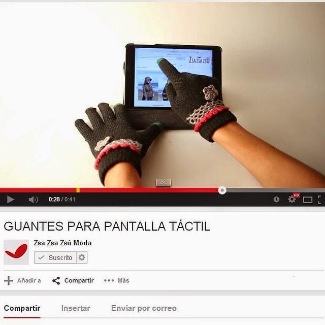 GUANTES PARA PANTALLA TÁCTIL