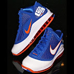 nike air max lebron 7 pe hardwood blue 1 03 Yet Another Hardwood Classic / New York Knicks Nike LeBron VII