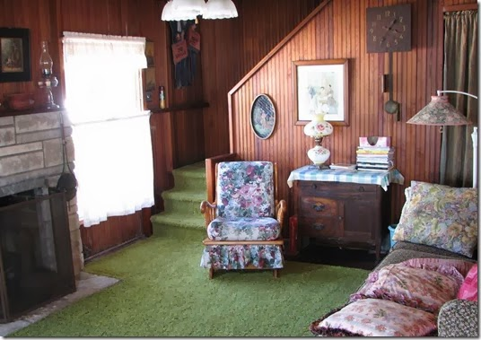 cottage green carpet