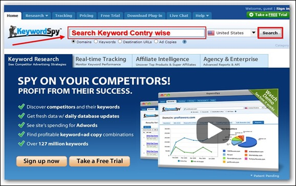 Keyword-search-tool