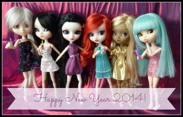 happy pullip new year 2014