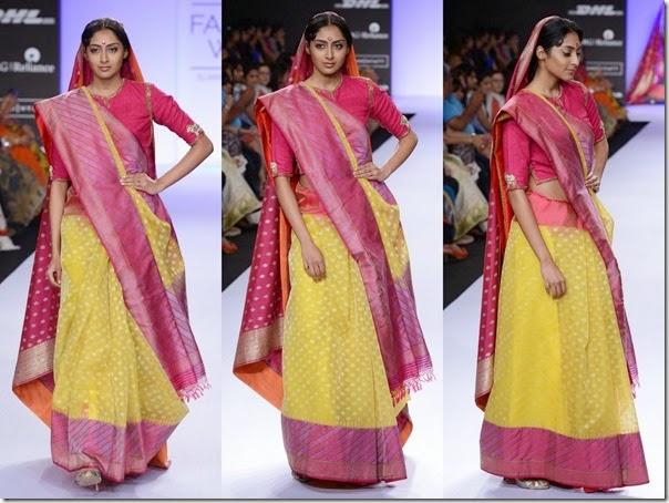 Gaurang_Shah_Yellow_Saree