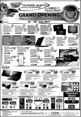 Thunder-Match-Dell-Sony-Concept-Store-Opening-Sale-2011-EverydayOnSales-Warehouse-Sale-Promotion-Deal-Discount