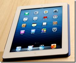 iPad 4 screen