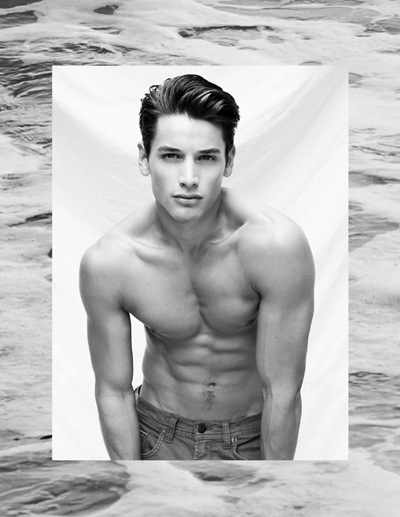 Andrew Gray @ Wilhelmina from 'Dreamers' by Christian Rios' DREAMERS, October 2011
