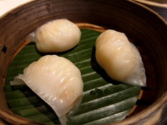 Tiger prawn, bamboo shoot dumpling