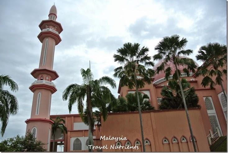 馬來西亞沙巴大學 粉紅清真寺 (22)